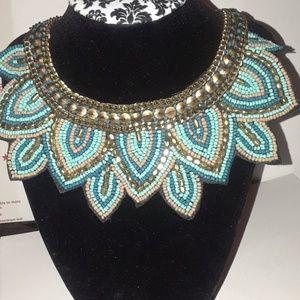 Jewelry - Vintage Handmade Beads Choker